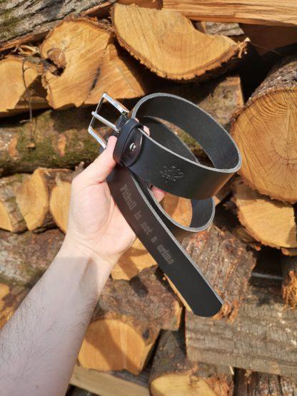 Cintura in vero cuoio personalizzato