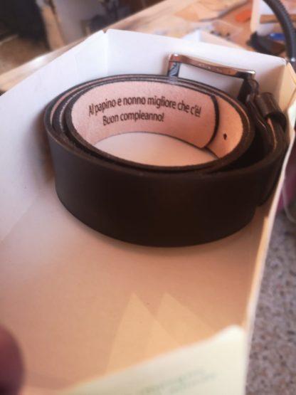 Gstyle cintura in cuoio personalizzata